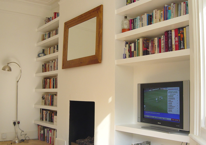 How To Build Shelves On A Wall | www.woodworking.bofusfocus.com