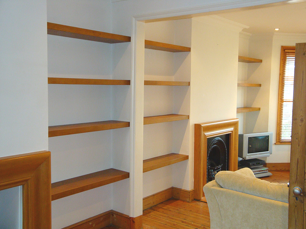 Real Wood Floating Shelves